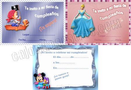descargar gratis tarjetas de invitación para cumpleaños | cajón