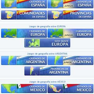Juegos de geografa online gratuitos  Cajn desastres