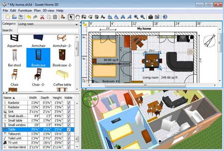 Programa gratis de dise o de interiores y decoraci n for Software diseno de interiores gratis