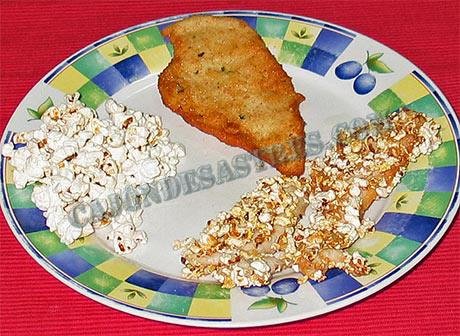 Pechugas de pollo con palomitas cocina f cil caj n - Pollo con almendras facil ...