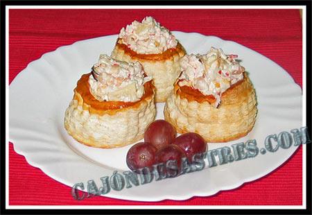 Tartaletas o volovanes rellenos cocina f cil caj n - Blogs de cocina facil ...