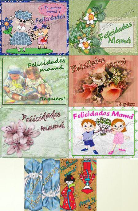 Tarjetas gratis felicitar dia de la madre