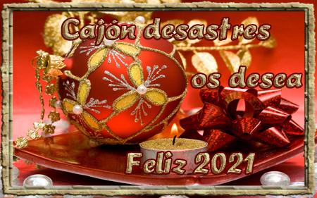 Tarjeta felicicitacion año nuevo