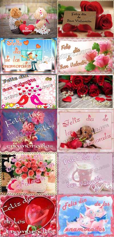 Recopilatorio de Tarjetas San Valentin Gratis para descargar