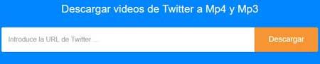 Descarga videos de Twitter