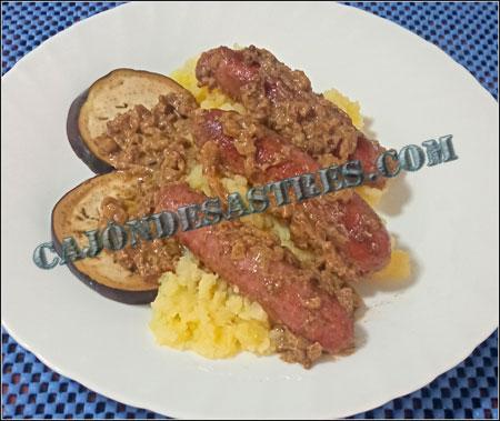 salchichas con curry Garam Masala
